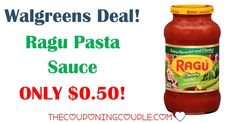 WOW! Stock up on CHEAP Ragu Pasta Sauce! Pay only $0.50 per jar at Walgreens! What a great price!  Click the link below to get all of the details ► http://www.thecouponingcouple.com/cheap-ragu-pasta-sauce-walgreens-only-0-50-each/ #Coupons #Couponing #CouponCommunity  Visit us at http://www.thecouponingcouple.com for more great posts!