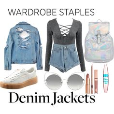 Untitled #20 by denisegul on Polyvore featuring polyvore, fashion, style, High Heels Suicide, WithChic, Puma, Marc Jacobs, Maybelline, Dolce Vita and clothing
