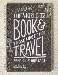 Notebook Journal Travel by witandwhistle