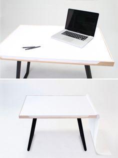 15 Creative & Multi-Functional Desks via Brit + Co