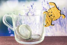 Tea Buddy™ Puppy Tea Infuser | kitchen decor, tea strainer, cute puppy lover gift, tea steeper, dog mug, loose leaf tea, tea mug, tea gift