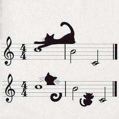 Musical cats #wednesdayinspo #misspatina