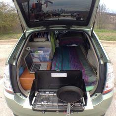 Un coffre aménagé en mini studio