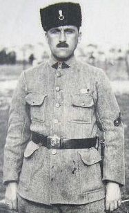 Turkish Gendarmerie officer 1921/1922 - pin by Paolo Marzioli