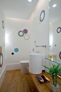 ¡Para tu departamento de soltera esta decoración quedaría increíble! ¿Qué te parece? #Bathroom #Hogar #Inspiracion #Color #Decoration #Ideas #Homedesing #arquitectura #Decortips #style #Interiorismo #IntimaHogar #Intima