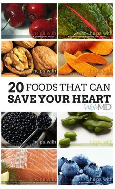 Find out how each food helps your heart health, and get tips on how to prep, cook, and serve these heart-healthy foods.  FLAX SEED is one that I am focusing on implementing into my diet plan http://www.webmd.com/diet/benefits-of-flaxseed?page=1