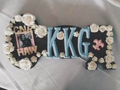 Kappa kappa gamma key paddle craft #kappa #kkg #key #paddle