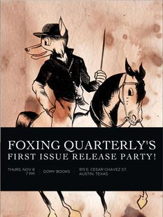 Austin's newest literary journal, Foxing Quarterly, champions the p...