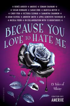 The cover for BECAUSE YOU LOVE TO HATE ME! Coming to you from Bloomsbury Publishing July 2017! ❤️