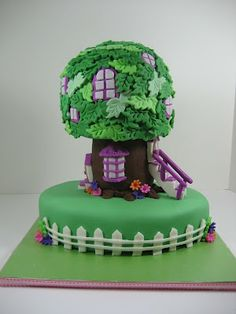 Tree house cake!!