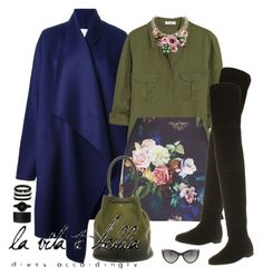 """""""..."""" by vanny ❤ liked on Polyvore featuring Vionnet, Equipment, Topshop, Office, Anya Hindmarch, Movado, Halcyon Days, Ted Baker, Dolce&Gabbana and Miu Miu"""