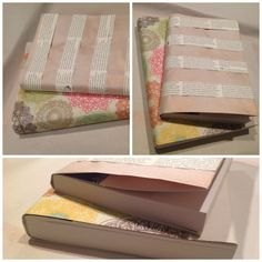 Just finished making these paper book covers! Love!!