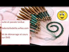 YouTube Kit, Bobby Pins, Hair Accessories, Youtube, Ganchillo, Bobbin Lace, Embroidery, Papillons, Hair Accessory