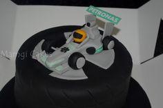 Lewis Hamilton Cake Topper