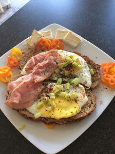 Egg and Ham Open Sandwich...mmm.. #foodporn #BringTheNoise