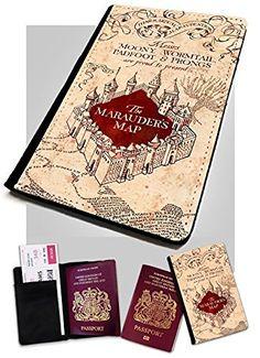 Marauders Reisepass-Eti, Landkarten-Design, Schützt den Reisepass, von Harry Potter inspiriert, http://www.amazon.de/dp/B00UNDVS96/ref=cm_sw_r_pi_awdl_x_nZXYxb2Z8KV09