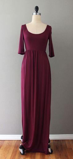 Sunday Maxi Dress - Autummn ready!!