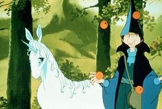 The Last Unicorn (1982) photos, including production stills, premiere photos and other event photos, publicity photos, behind-the-scenes, and more.