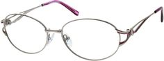 I love the shape and color accent on this pair. 6598 Metal Alloy / Stainless Steel Full-rim Frame zennioptical.com