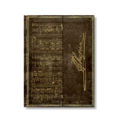 Paperblanks Notizbuch Faszinierende Handschriften liniert groß, Chopin Polonaise As-Dur. #Paperblanks #DasNotizbuch #Notizbuch #Notebook #TopMarke www.dasnotizbuch.de