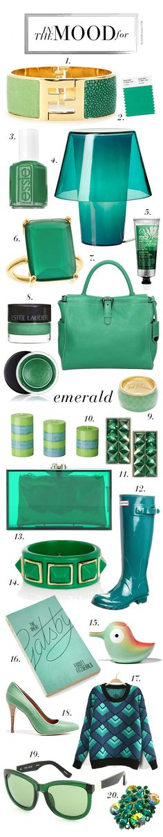 In the Mood for ... Emerald | The House of Beccaria~