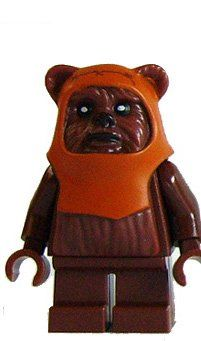 Lot of 8 Ewoks and More Mini-Figures with Custom Lego Base includes Chief Chirpa