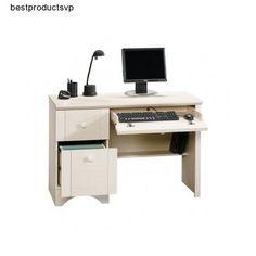 #Ebay #White #Home #Office #Desk #Furniture #Computer #Workstation #Storage #Drawer #Student #PC  #Sauder #Traditional