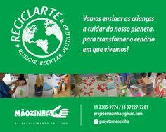 Post de Facebook para Projeto Mãozinha