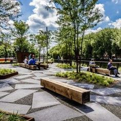 Image result for landscape examples for business parks