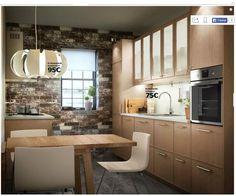 Modèle Ekestad, cuisine Metod, catalogue Ikea cuisine 2016. Vu page 23.