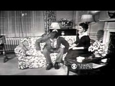 """Jack and Jackie interviewed by Edward R. Murrow on """"Person to Person,"""" October 1953 - shortly after they married."""