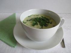 Karalábé krémleves Tea Cups, Soup, Tableware, Ethnic Recipes, Dinnerware, Dishes, Soups, Place Settings, Teacup