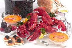 This special Lobster  Dinner includes live Lobsters - one Medium, 1.2-1.4 lb, per person,