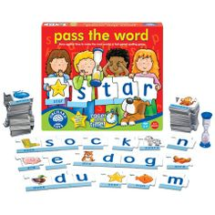 Pass the Word Educational Card Game by Orchard Toys  - Available at Kids Mega Mart Online Shop Australia