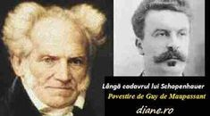 S-a sugerat că povestirea scurtă a lui Guy de Maupassant, Lângă cadavrul lui Schopenhauer, poate fi un atac lipsit de respect față de Schope... Sarcasm, Respect, Einstein, Satire