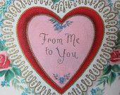 Vintage Valentine treasury on Etsy    featuring members of the Vintage Team