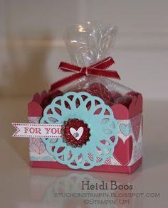 valentine's treats - big shot style!