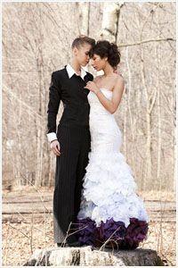 Bridal Friday Link Time: An Eco-Friendly Gay Wedding Shoot Wedding Photoshoot, Wedding Shoot, Dream Wedding, Purple Wedding, Wedding Suits, Wedding Attire, Wedding Dresses, Wedding Scene, Lesbian Wedding