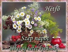 Good Morning, Floral Wreath, Wreaths, Plants, Decor, Figurative, New Week, Buen Dia, Floral Crown