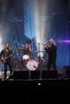 #RobertPlant performing in Gijón, Spain, July 12, 2016.