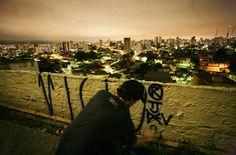 Pixo, about pichação in São Paulo
