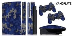 """Personalize your Peripherals! These are Thick Vinyl skins, not a Hard Plastic Faceplate. Easy Install, precision cut for all buttons, jacks, ports. This skin fits the Original PS3 """"FAT"""" model Only, does NOT fit the ps3 """"SLIM"""" model."""
