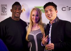 Antrel Rolle is definitely not shy when it comes to lights, camera and action. Boss.