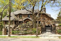 On the market: The century-old house is also available for sale, with a price tag of $10.5...