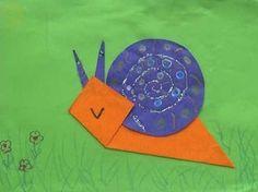 1000 images about schnecken on pinterest snails origami and kindergarten. Black Bedroom Furniture Sets. Home Design Ideas