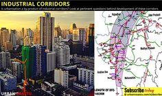 #Urbanization : #Industrial #Corridors India's #pentagon of growth corridors