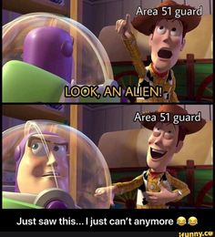 Area 51 guard Just saw this. Ijust can't anymore O. - Just saw this. I just can't anymore 😂😂 - iFunny :) Really Funny, Funny Cute, The Funny, Hilarious, Area 51, Lol, Dankest Memes, Funny Memes, Jokes
