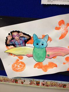 Bats, pumpkins, ghosts, and silly kids!