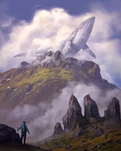 I post a variety of interests: Silent Film History, Silver and Small Screen History, Nature Photography, Tons and varieties of GIFs, and Fantasy Art. Fantasy Places, Fantasy World, Fantasy Art, Whale Painting, Matte Painting, Art Visionnaire, Whale Illustration, Whale Art, Surrealism Photography