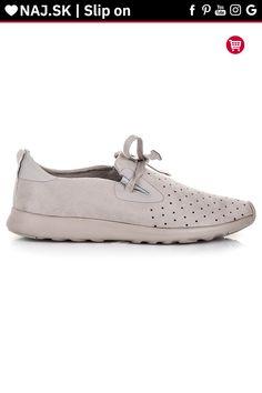 Sivé semišové topánky slip on Kylie Kylie, Slip On, Sneakers, Shoes, Fashion, Tennis, Moda, Slippers, Zapatos